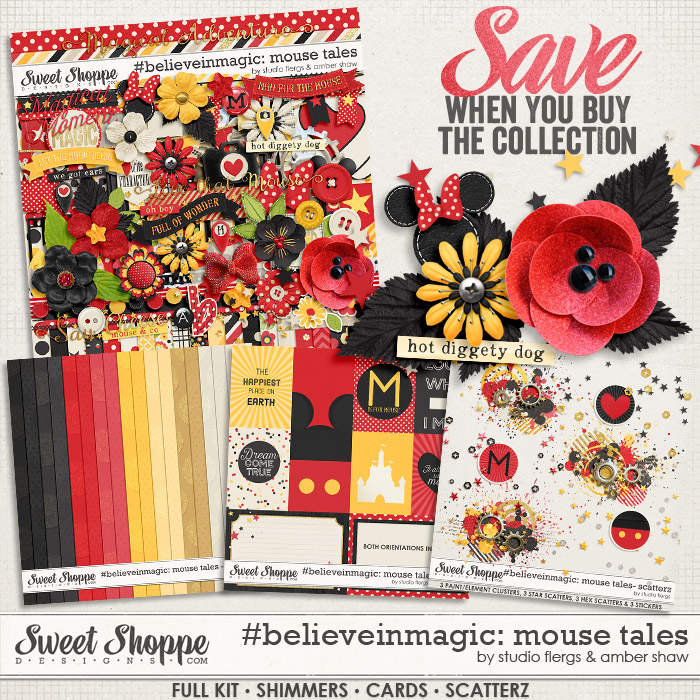 #believeinmagic: Mouse Tales Collection by Amber Shaw & Studio Flergs