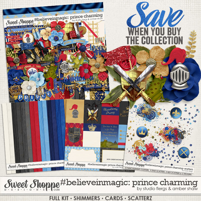 #believeinmagic: Prince Charming Collection by Amber Shaw & Studio Flergs