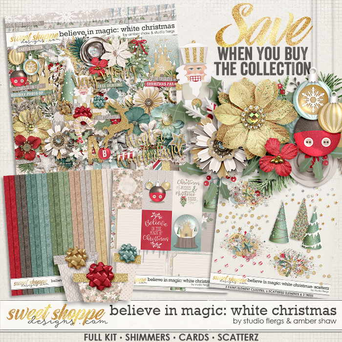 Believe in Magic: White Christmas Collection by Amber Shaw & Studio Flergs