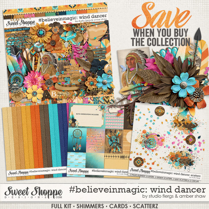 #believeinmagic: Wind Dancer Collection by Amber Shaw & Studio Flergs