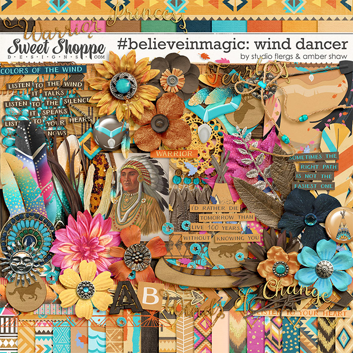 #believeinmagic: Wind Dancer by Amber Shaw & Studio Flergs