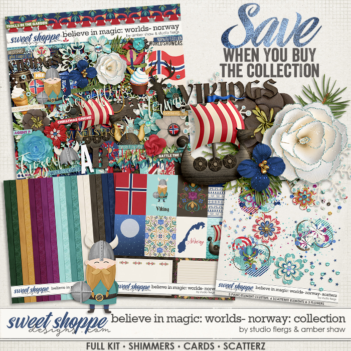 Believe in Magic: Worlds - Norway Collection by Amber Shaw & Studio Flergs