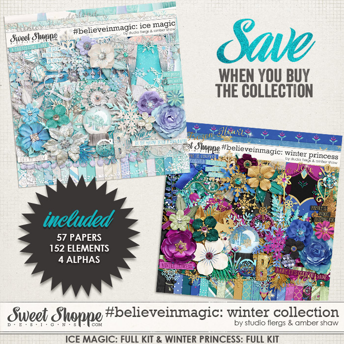 #believeinmagic: Winter Collection by Amber Shaw & Studio Flergs
