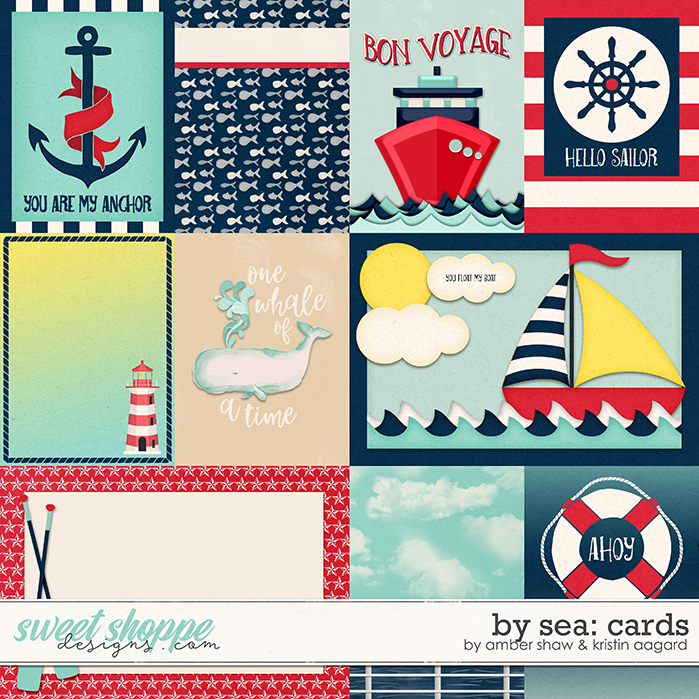 By Sea: Cards by Amber Shaw & Kristin Aagard