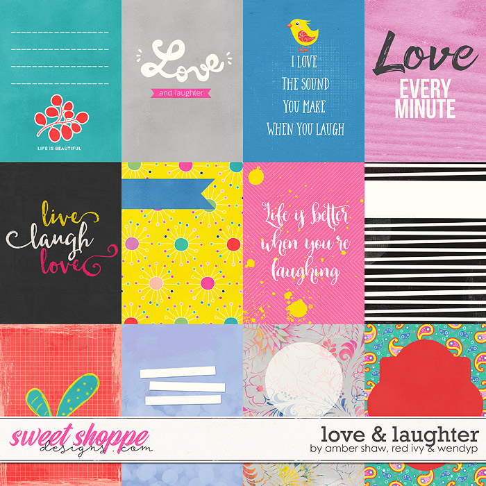Love & Laughter Cards by Amber Shaw, Red Ivy & Wendyp