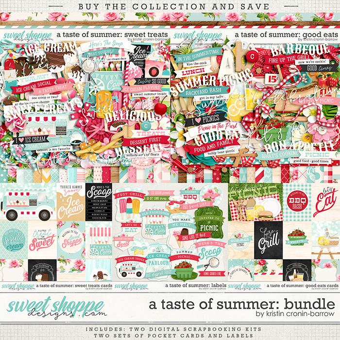 A Taste of Summer: Bundle by Kristin Cronin-Barrow
