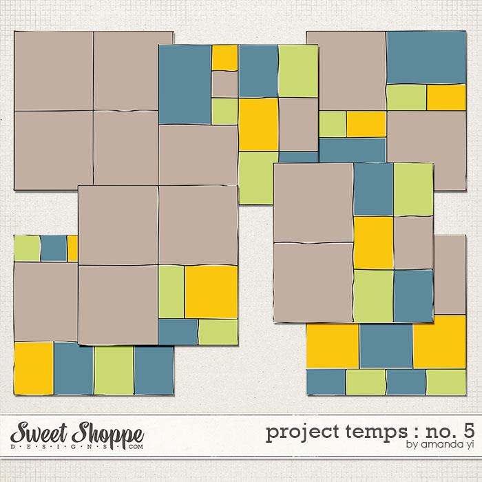 Project Temps : No. 5 by Amanda Yi