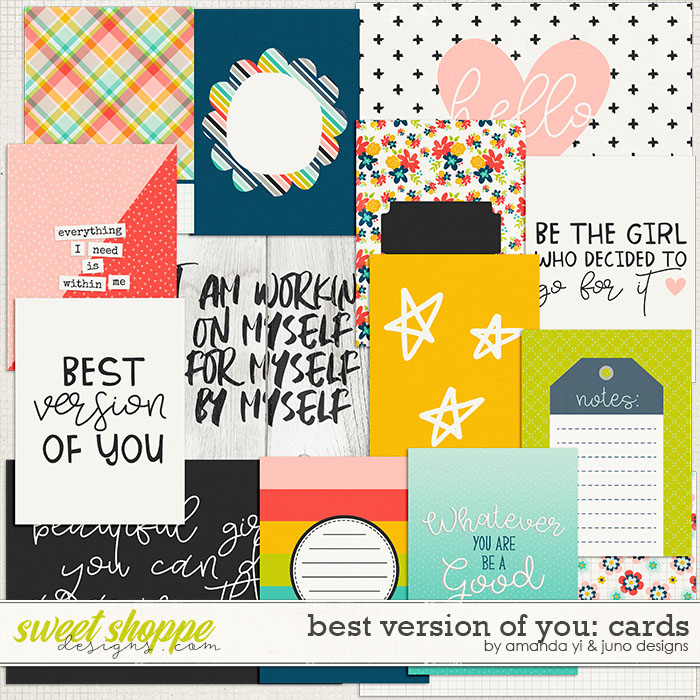 Best Version Of You: Cards by Amanda Yi & Juno Designs