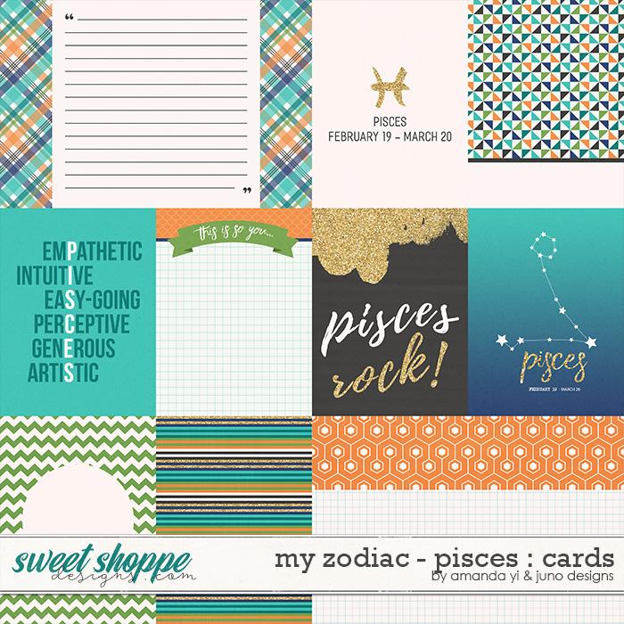 My Zodiac - Pisces : Cards by Amanda Yi & Juno Designs