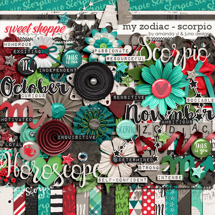 My Zodiac - Scorpio by Amanda Yi & Juno Designs
