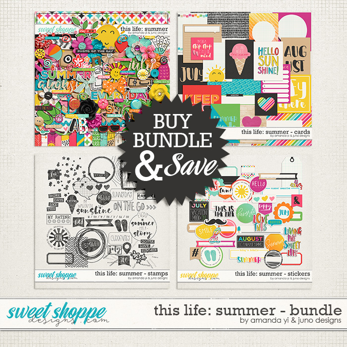 This Life: Summer - Bundle by Amanda Yi & Juno Designs