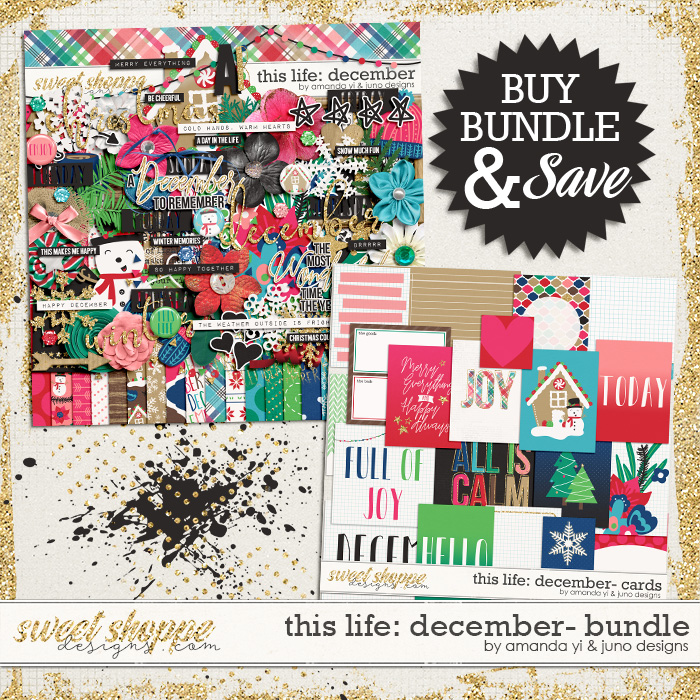 This Life: December - Bundle by Amanda Yi & Juno Designs