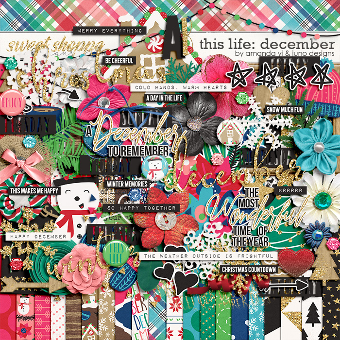 This Life: December by Amanda Yi & Juno Designs