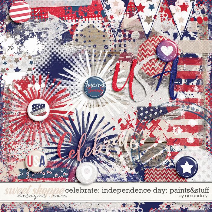 Celebrate: Independence Day - Paints & Stuff by Amanda Yi