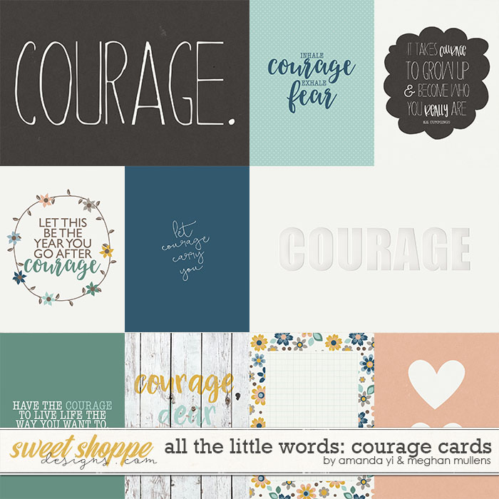 All The Little Words-Courage Card Pack by Amanda Yi and Meghan Mullens