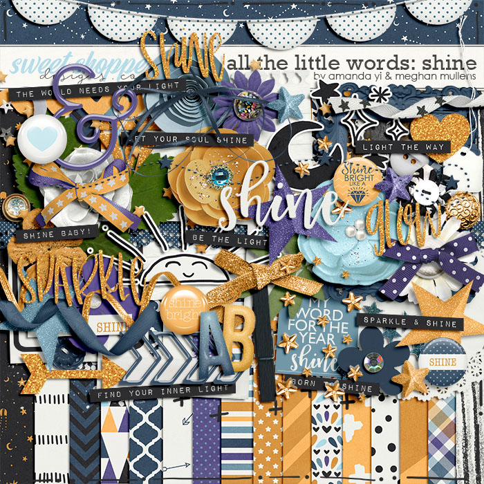 All The Little Words-Shine Kit by Amanda Yi and Meghan Mullens