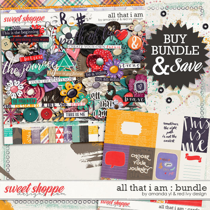 All That I Am - Bundle  by Amanda Yi & Red Ivy Design