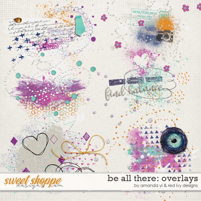 Be All There - Overlays