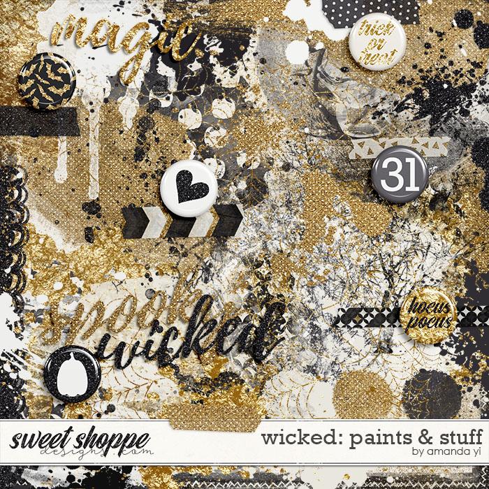 Wicked : Paints & Stuff by Amanda Yi