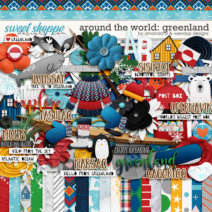 Around the world: Greenland by Amanda Yi & WendyP Designs