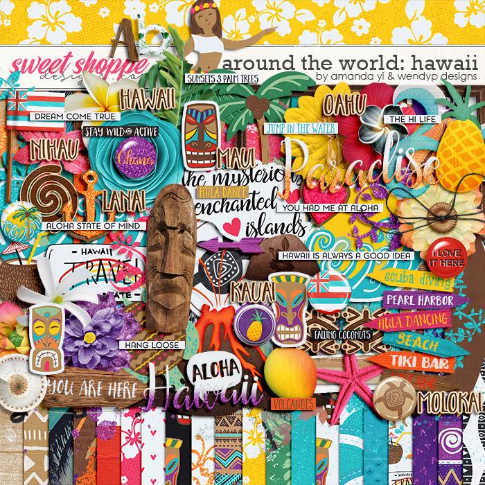 Around the world: Hawaii by Amanda Yi and WendyP Designs