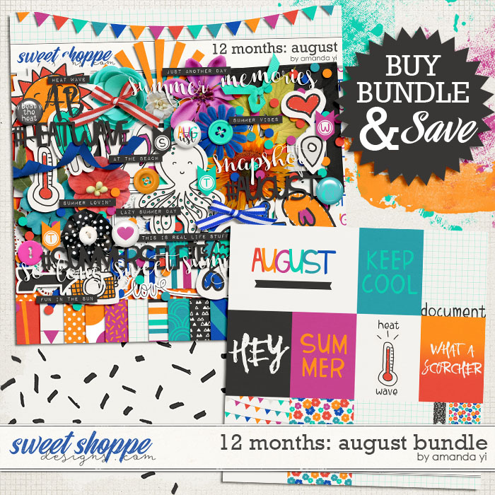 12 Months: August Bundle by Amanda Yi