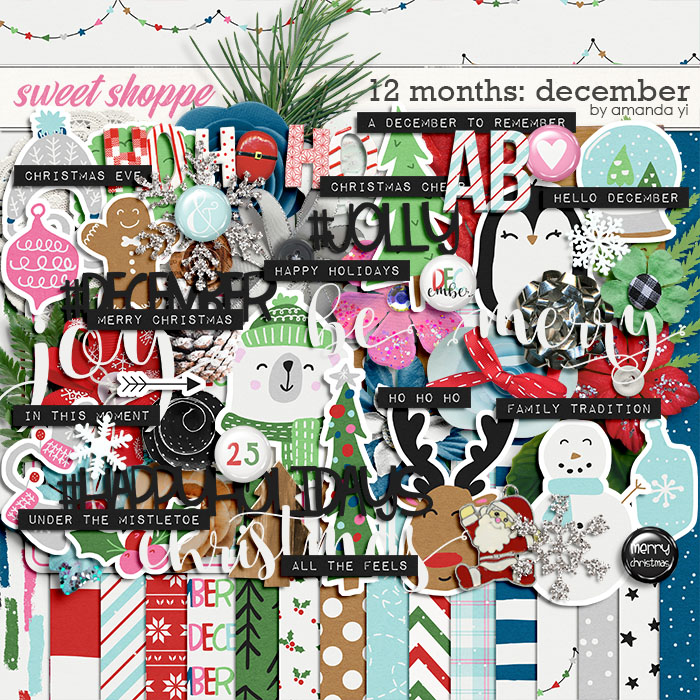 12 Months: December by Amanda Yi