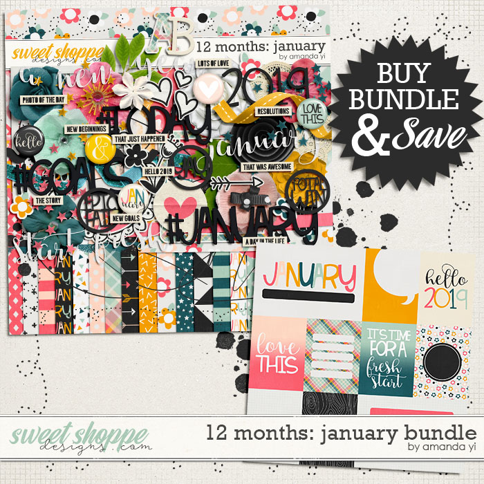 12 Months: January Bundle by Amanda Yi
