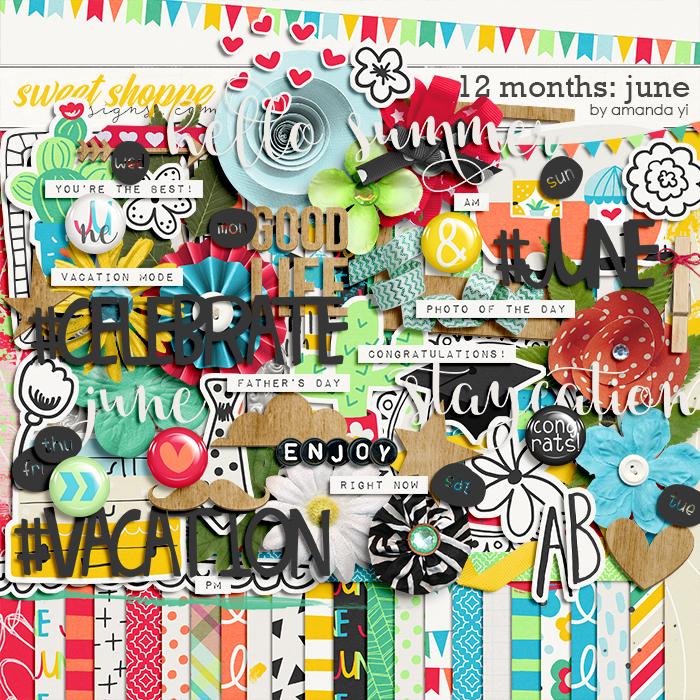 12 Months: June by Amanda Yi