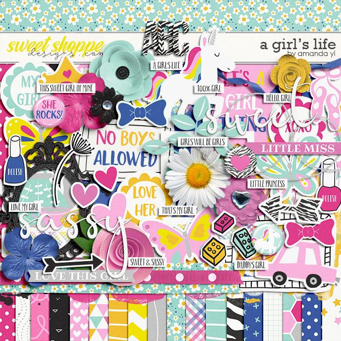 A Girl's Life by Amanda Yi