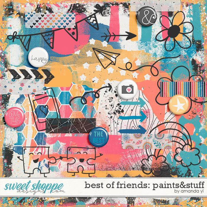 Best of Friends: Paints&Stuff by Amanda Yi