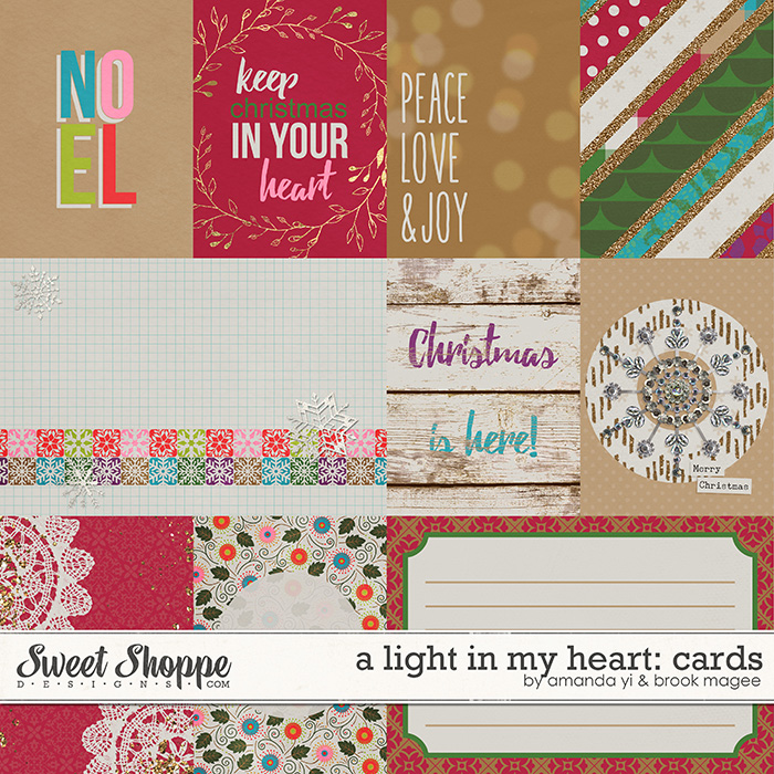 A Light In My Heart : Cards by Amanda Yi & Brook Magee