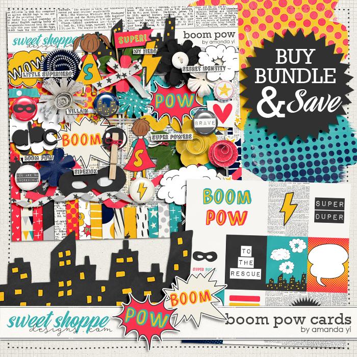 Boom Pow: Bundle by Amanda Yi