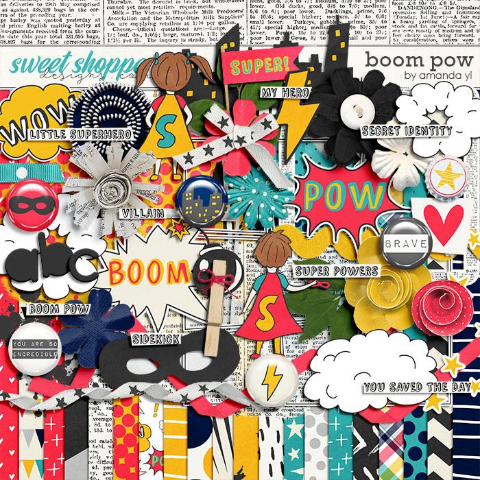 Boom Pow by Amanda Yi