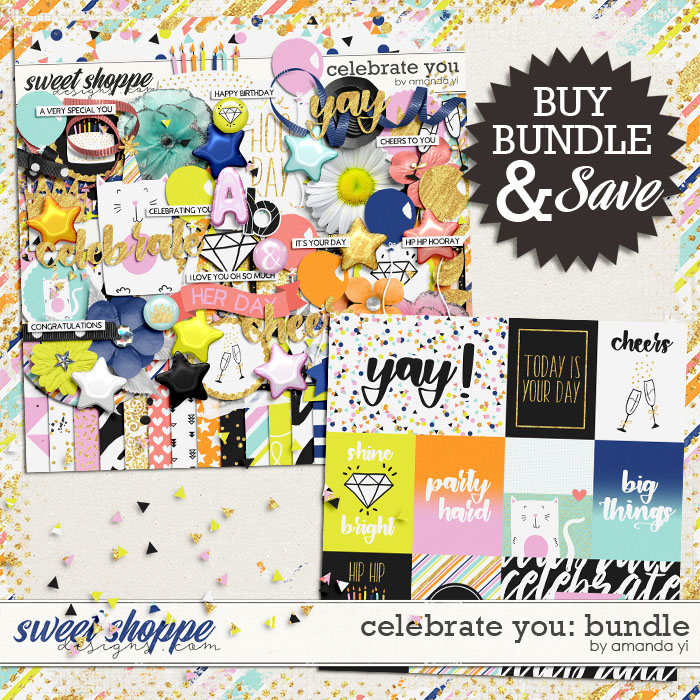 Celebrate You: Bundle by Amanda Yi