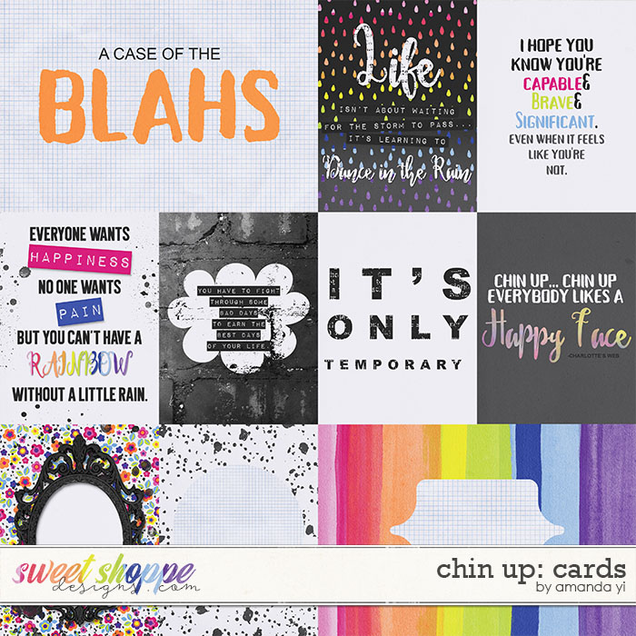 Chin Up - Cards by Amanda Yi