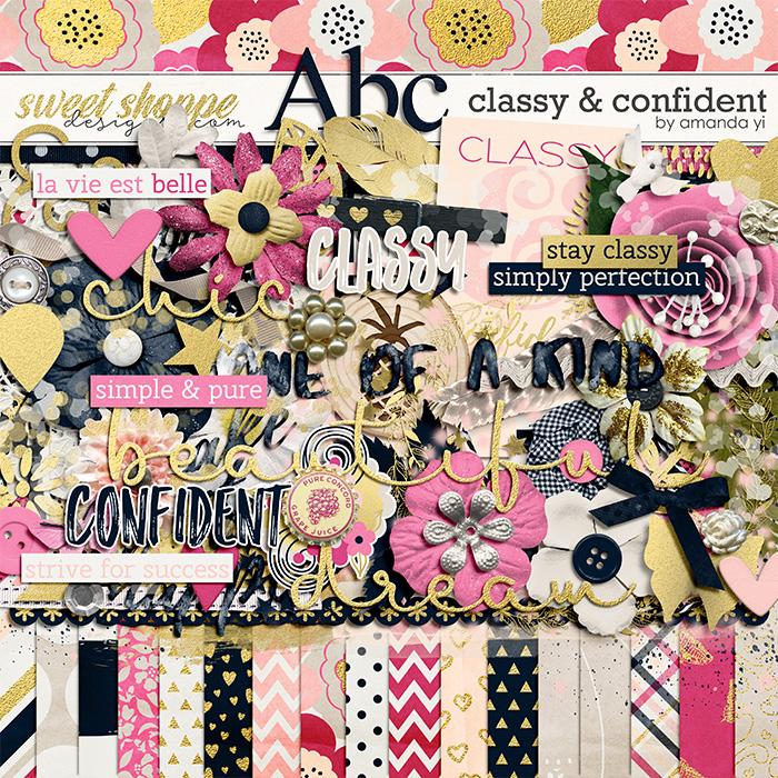 Classy & Confident by Amanda Yi