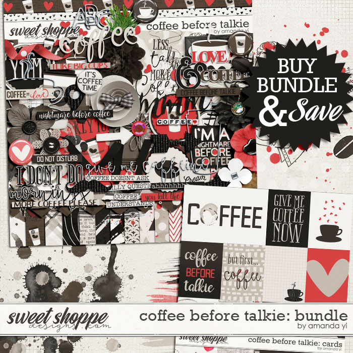 Coffee Before Talkie : Bundle by Amanda Yi