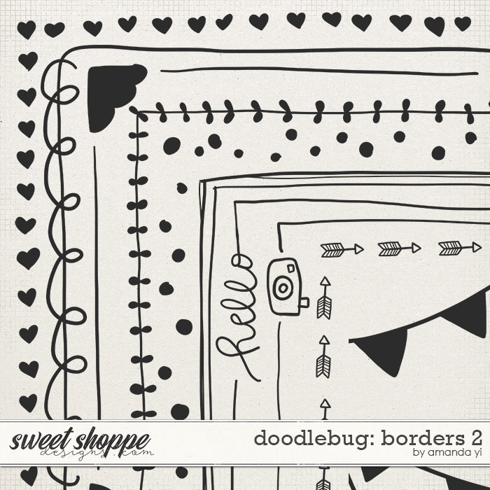 Doodlebug: Borders 2 by Amanda Yi