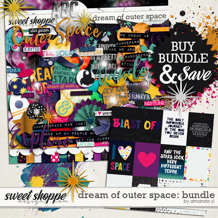 Dream of Outer Space : Bundle by Amanda Yi