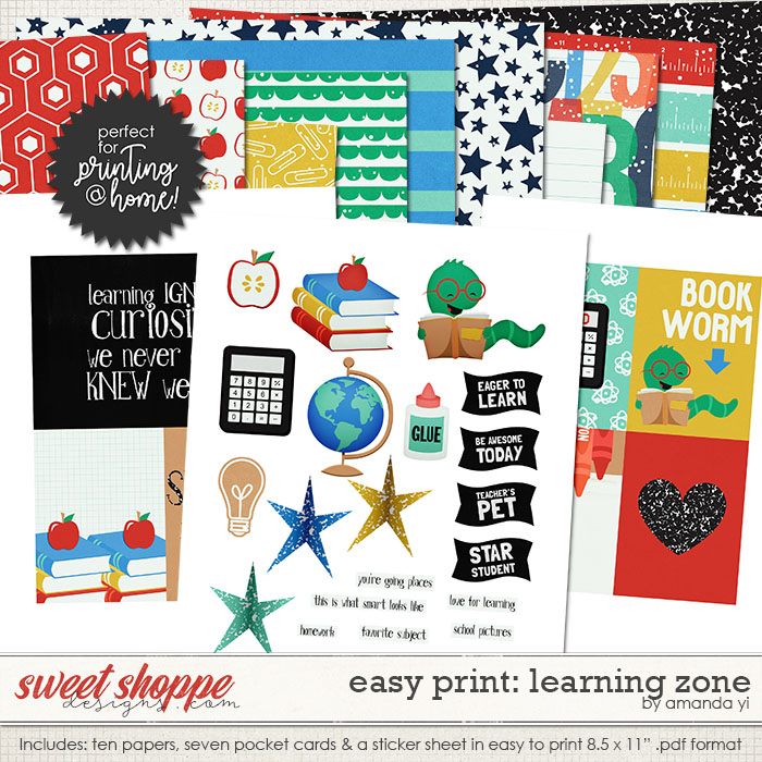 Easy Print: Learning Zone by Amanda Yi