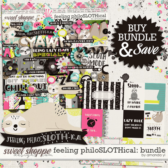 Feeling PhiloSLOTHical: Bundle by Amanda Yi