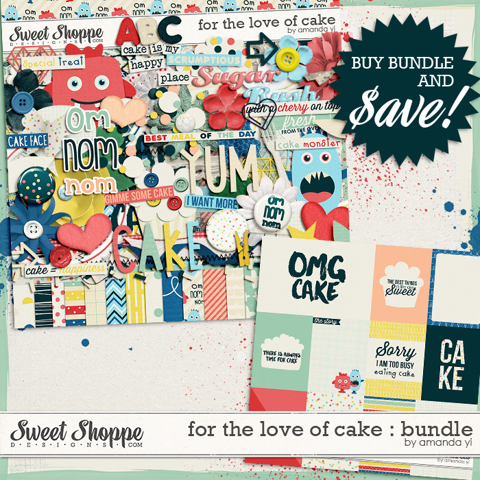 For the Love of Cake : Bundle by Amanda Yi