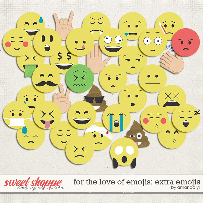 For The Love Of Emojis: Extra Emojis by Amanda Yi