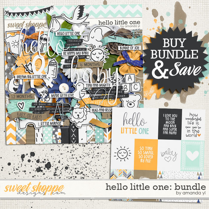 Hello Little One - Bundle by Amanda Yi