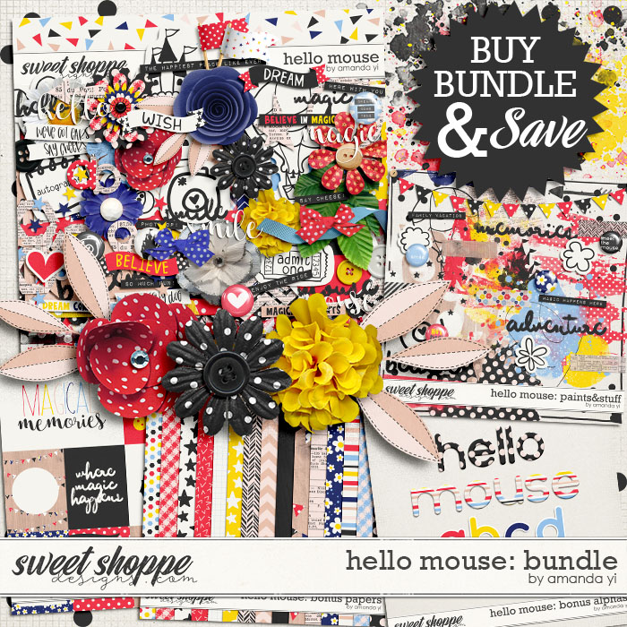 Hello Mouse: Bundle by Amanda Yi