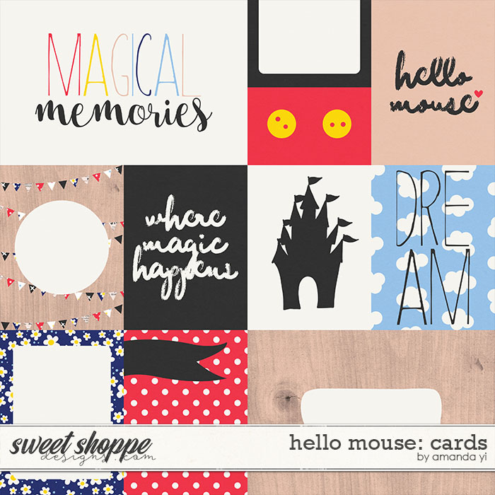 Hello Mouse: Cards by Amanda Yi