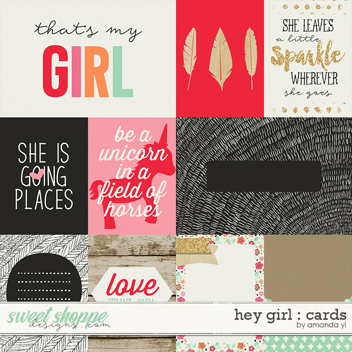 Hey Girl : Cards by Amanda Yi