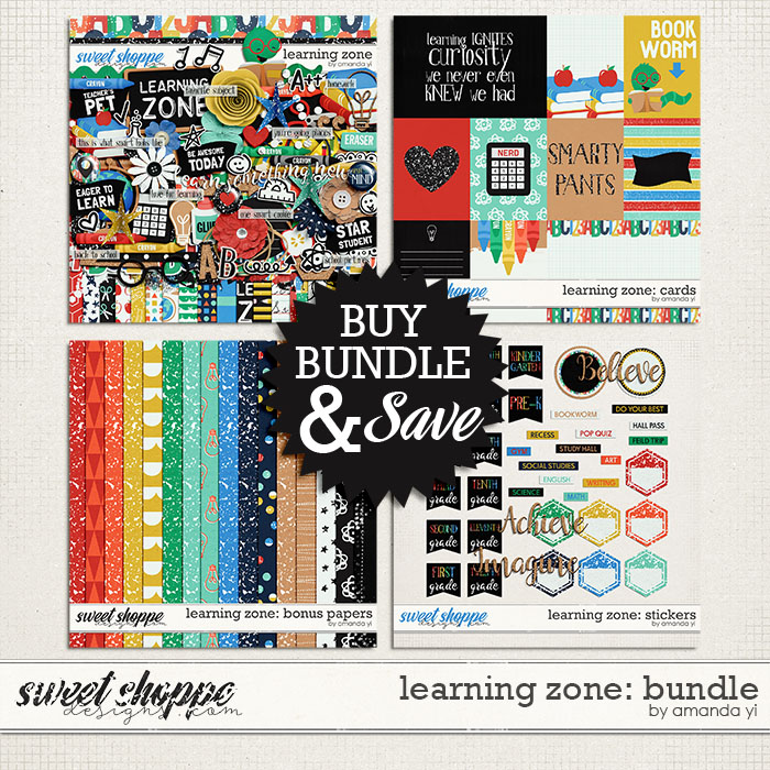 Learning Zone: Bundle by Amanda Yi