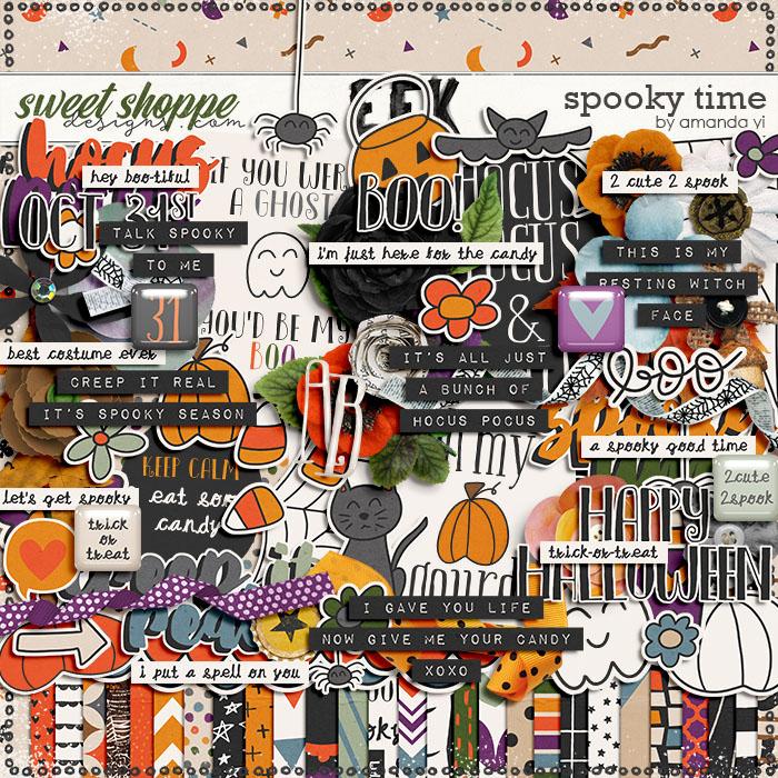 Spooky Time by Amanda Yi